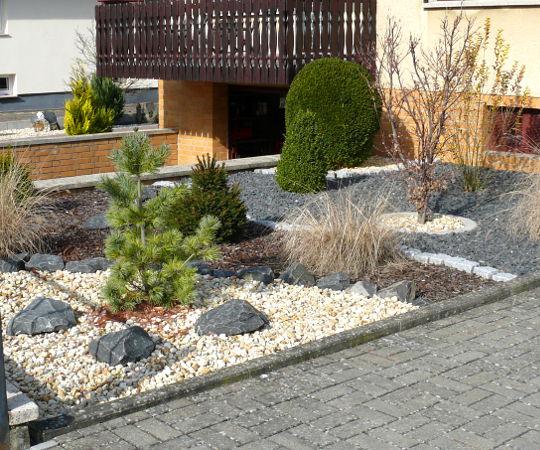 Gartengestaltung Wieneke - Uslar - Referenzen - Kies im ...