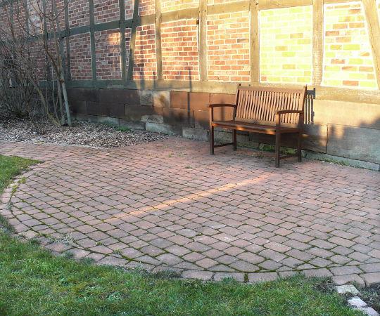 Gartengestaltung Wieneke Uslar Referenzen Pflasterflachen Im