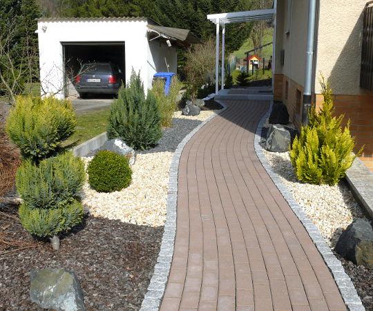 Gartengestaltung wieneke uslar referenzen wege im for Gartengestaltung wege
